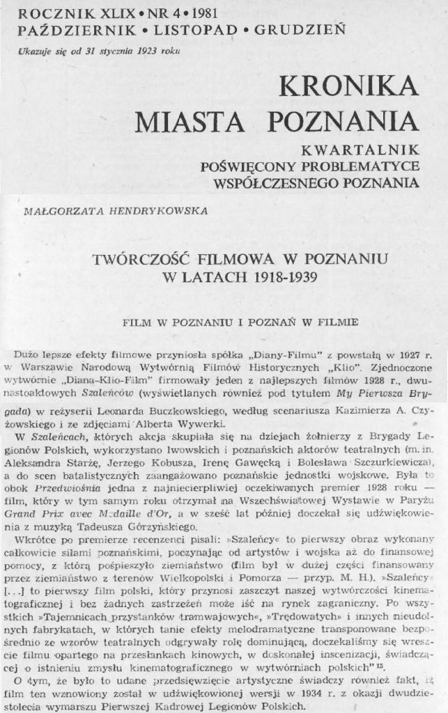 11 Kronika Miasta Poznania_ 1981.10_12 R.49 Nr4