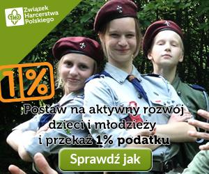 Przekaż 1 procent na Drużynę Harcerską z Biedruska