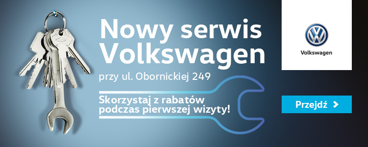 Nowy serwis volkswagen - Obornicka 249