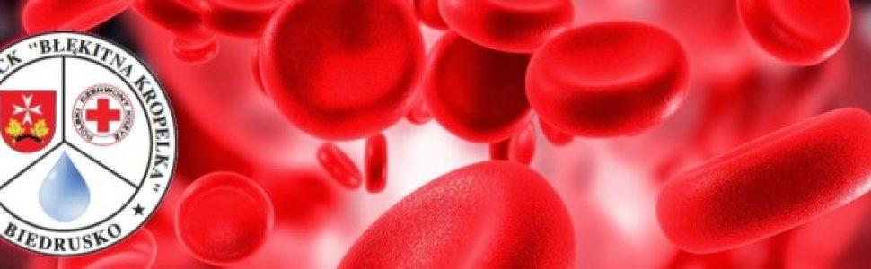 Oddaj krew 10 lutego w Biedrusku