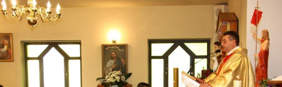 Msza polowa 10 czerwca – Ksiądz Proboszcz Wiesław Okoń kończy posługę