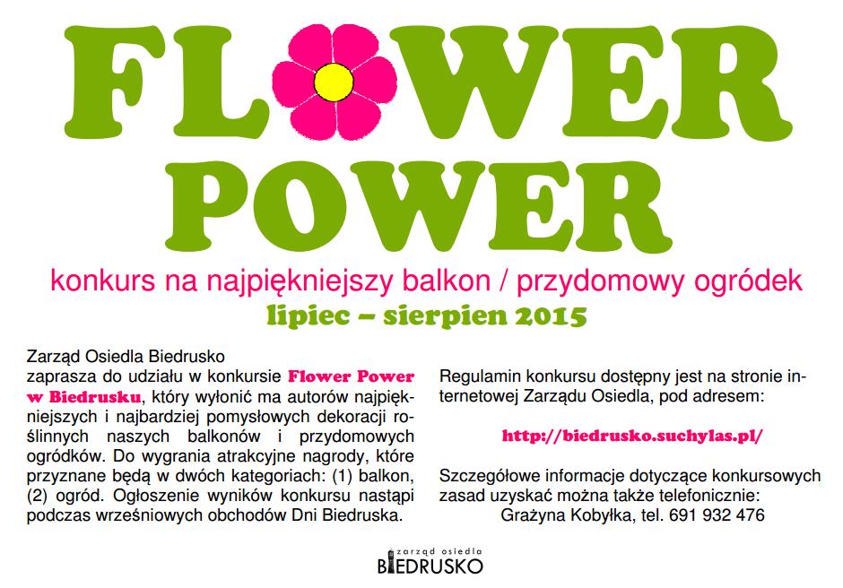 plakat Flower Power