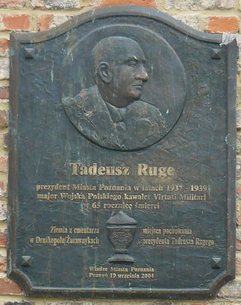 tablica Tadeusz Ruge