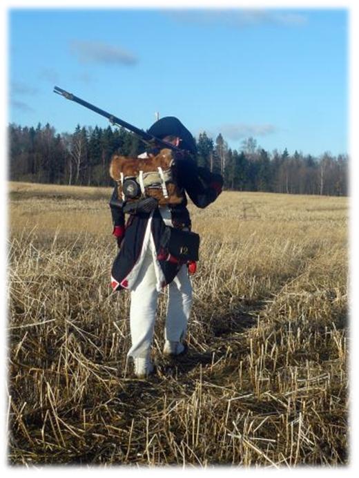 żołnierz napoleonski