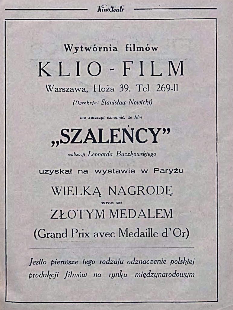 08 Kino Teatr_ ilustrowany dwutygodnik filmowo-teatralny 1928.10.15