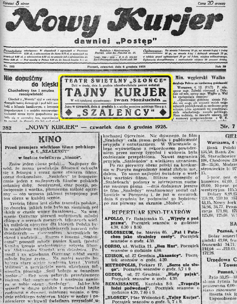 10 Nowy Kurjer 1928.12.06 R.39 Nr282