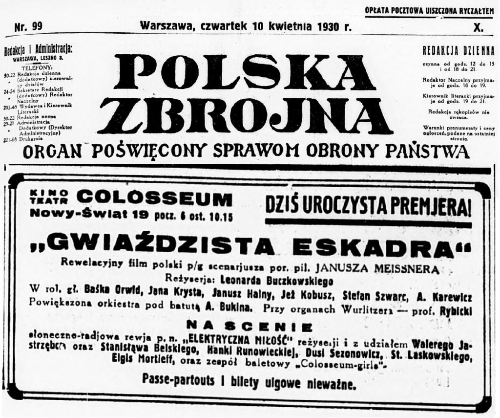 03 Polska Zbrojna R.10, nr 99 (10 kwietnia 1930)