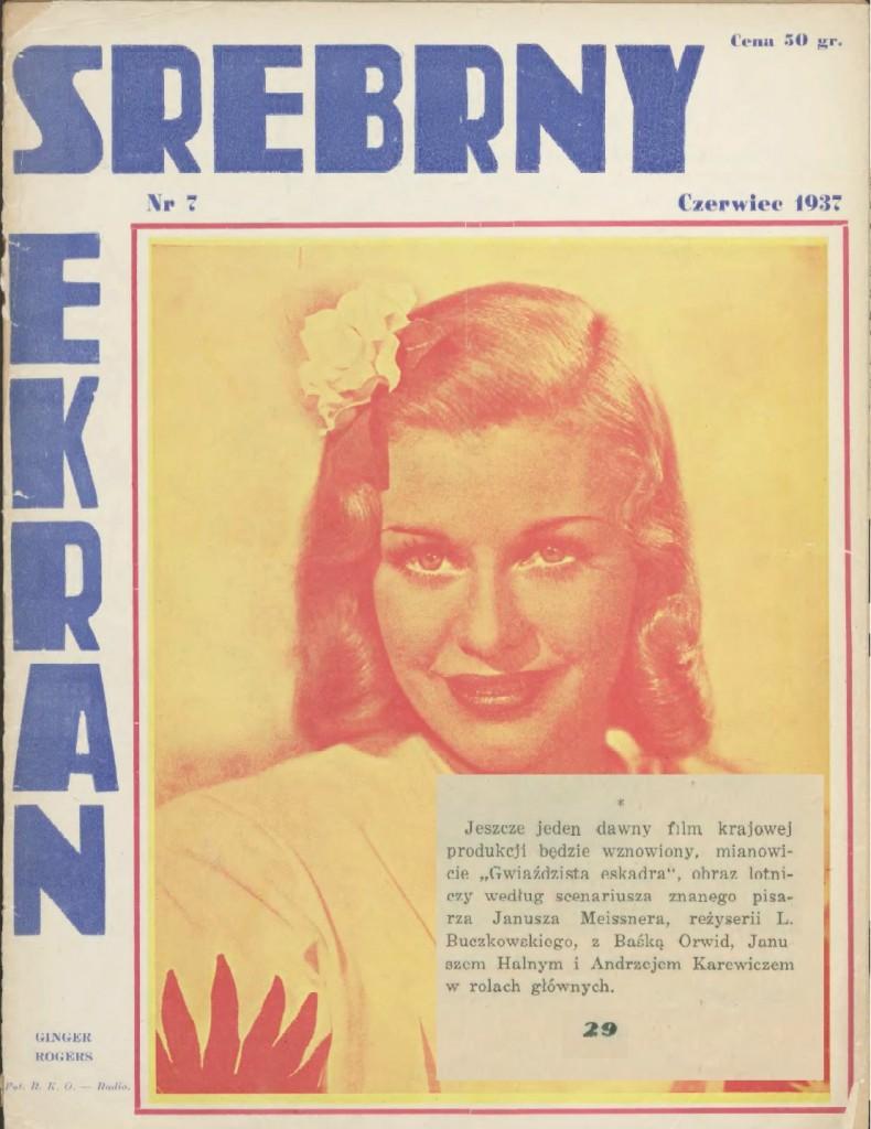 20 Srebrny Ekran [R. 1], 1937 nr 7 (czerwiec) GE wznowienie s18
