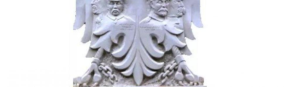 Uroczystość odsłonięcia Narodowego Panteonu Powstania Wielkopolskiego przy Pałacu