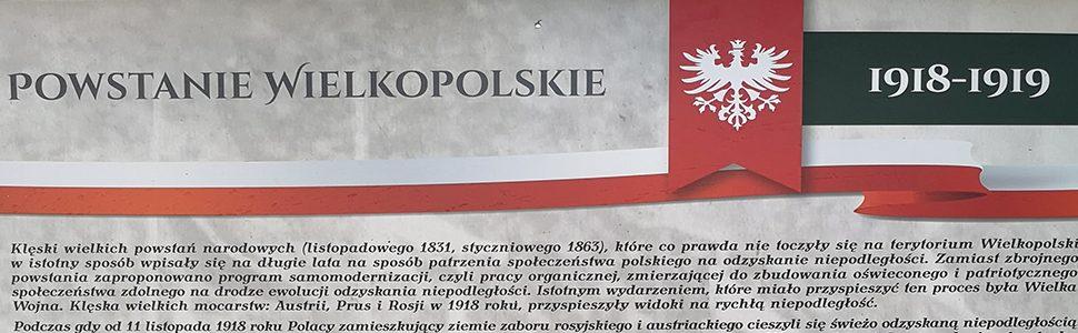 Tablice upamiętniające Powstanie Wielkopolskie