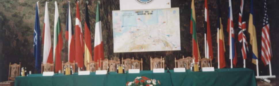 """25 lat od Ćwiczeń """"Cooperative Bridge"""" w ramach programu NATO """"Partnerstwo dla Pokoju"""""""