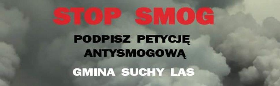 Mieszkańcy gminy Suchy Las dla czystego powietrza, czyli dlaczego warto podpisać petycję antysmogową.